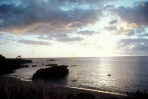 Waimea Bay, North Shore of Oahu, where I was born.